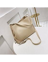 Bolso Bolso único simple casual retro shopping bag retro,color beige