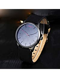 Lorenz MK-1048A Jet Black Analog Watch For Men