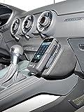 KUDA Telefonkonsole (LHD) für: Audi TT (8S) ab 2014 in Kunstleder Schwarz