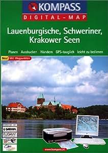 Lauenburgische - Schweriner - Krakower Seen. CD-ROM für Windows 95/98/2000/NT/XP.