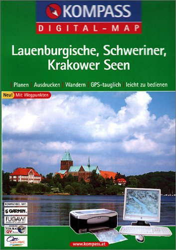 Lauenburgische - Schweriner - Krakower Seen. CD-ROM für Windows 95/98/2000/NT/XP.