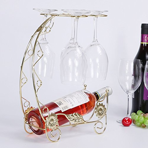 Kreative Weinregal Dekoration Weinglas Rack Hängende Wein Becher Stehen Kopf Weinregal Weinregal ( Size : B ) (Baum Banane Stehen)