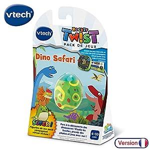 VTech Rockit Twist Jeu Dino Safari - Accesorios electrónicos para niños (Multicolor, 4 año(s), 10 año(s), Boy & Girl, Francés, 46 mm)