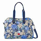 Oilily Hadtasche Flower Field - M Carry All - Blueberry