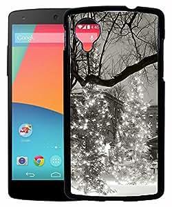 FCS® Printed 2D Designer Hard Back Case For LG Google Nexus 5