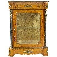 Casa-Padrino Empire Vitrine Birdseye Maple - Handcrafted from Solid Wood - Baroque Display Case - Comparador de precios