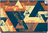 Abstract Colorful Triangular Pattern High Quality printed Laptop skins | Laptop decals | Laptop Stickers | Skin Stickers for Apple , HP , Lenovo , Sony , Dell , Acer , Asus , Compaq , Toshiba Laptops for 15.6 inch screen size.