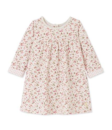 Petit Bateau Baby-Mädchen Robe ML Kleid, Mehrfarbig (Montelimar/Multico 62), 92 (Herstellergröße: 24m/86cm)