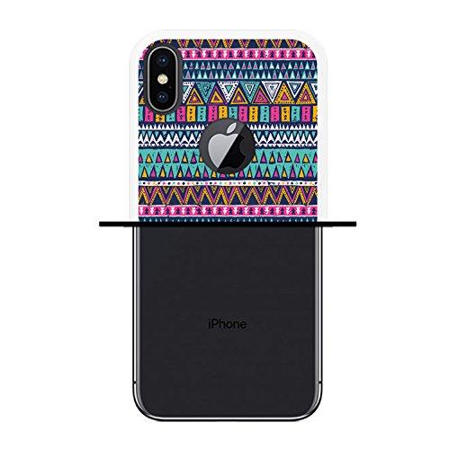 iPhone X Hülle, WoowCase Handyhülle Silikon für [ iPhone X ] Rock Star Handytasche Handy Cover Case Schutzhülle Flexible TPU - Schwarz Housse Gel iPhone X Transparent D0478