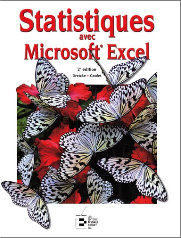 Statistiques avec Microsoft Excel