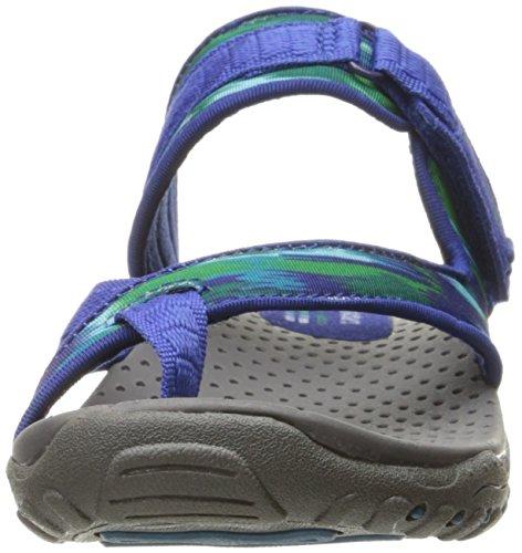 Sandali e infradito per le donne, colore Grigio , marca SKECHERS, modello Sandali E Infradito Per Le Donne SKECHERS REGGAE - RASTA Grigio Blu/Verde