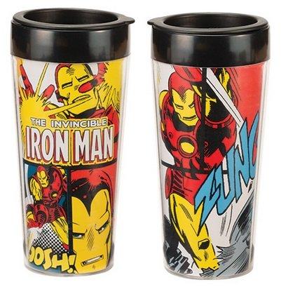 Iron Man Marvel 16 oz Tasse Voyage plastique