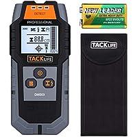 Ortungsgerät Tacklife DMS03 Multifunktions Digitale Wand Scanner Detektor Stud Finder mit Großer LCD Hintergrundbeleuchtung und Signalanzeige mit Schutztasche für AC Draht, Holz und Metall