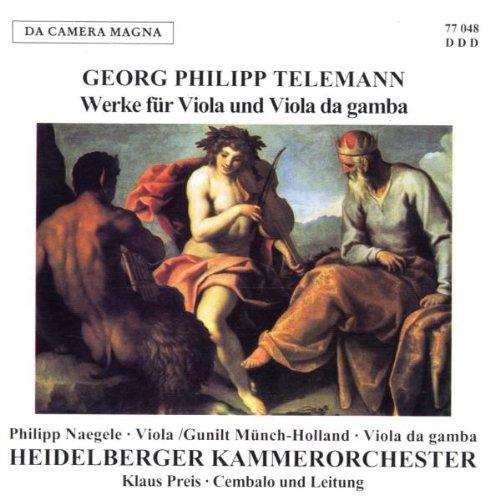 Werke für Viola und Viola da Gam
