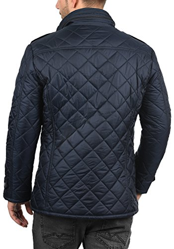 !Solid Safi Herren Steppjacke Übergangsjacke Jacke Mit Stehkragen, Größe:S, Farbe:Insignia Blue (1991) - 3