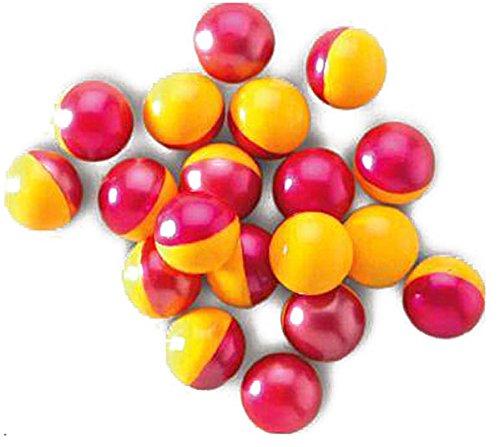 Outletdelocio. Pack de 500 bolas de pintura para pistolas y rifles de paintball. Calibre .68. (Pintura soluble en agua)