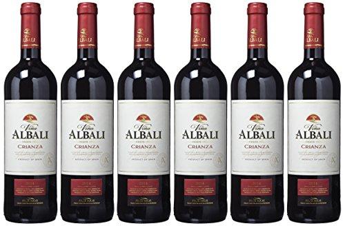 Viña Albali Crianza D.O.P. Valdepeñas - 6 botellas x 75 cl - Total : 450cl