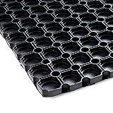 IVOL Geschlossene Gummi-Ringmatte - 100x150cm - wasserdichte Löcher