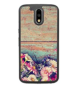 PrintVisa Bunch Of Flower High Gloss Designer Back Case Cover for Motorola Moto G4 Plus