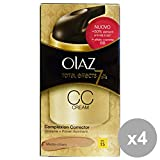 Set 4 OLAZ Total Effects CC Cream Medio-Chiaro Gesichtspflege