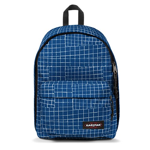 Eastpak Out Of Office Zaino Casual, 27 Litri, Blu (Blue Dance)