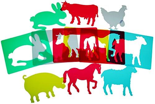 Foto de HenBea - Plantillas animales de granja traslúcidas (916)