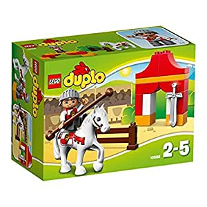 Lego DUPLO LEGOville-thème Chevalier - 10568 - Jeu De Construction - Le Combat Du Chevalier