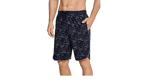 163723 Schiesser Herren kurze Schlafanzughose Loungehose Bermuda