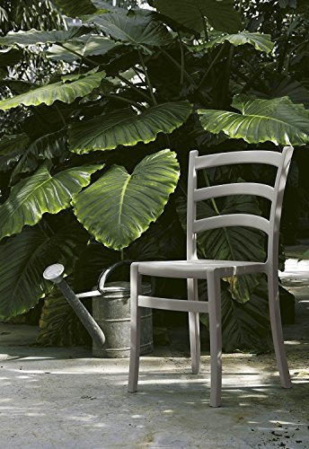 Colico Tavoli Sedie Varedo.Sedia Italia150 Impilabile Grigio Fango Arredo Giardino Colico Design