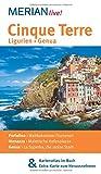 MERIAN live! Reiseführer Cinque Terre Ligurien Genua: Mit Kartenatlas im Buch und Extra-Karte zum Herausnehmen