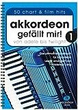 Akkordeon gefällt mir Band 1 - das ultimative Spielbuch für Akkordeon von ADELE bis TWILIGHT - 50 Hits leicht arrangiert - Ausgabe in Ringbindung (Noten)