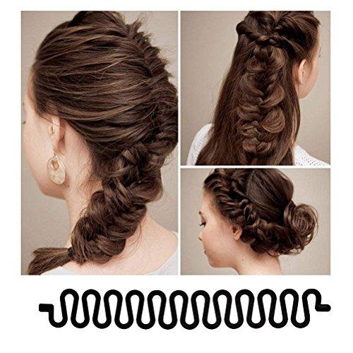 Zoom IMG-3 yikimira 3 pezzi capelli chignon