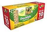 Peckish Complete Suet Cake Block for Wild Birds - Pack of 10