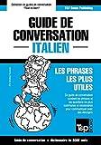 guide de conversation fran?ais italien et vocabulaire th?matique de 3000 mots
