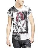 Photo de trueprodigy Casual Homme Tee Shirt Motif imprimé, Vetements Swag Marque col Rond Manche Courte & Slim fit Classic, t-Shirt Mode Fashion par trueprodigy