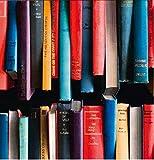 Klebefolie - Möbelfolie Bücher Bücherregal bunt - 45 cm x 200 cm Designfolie Selbstklebende Folie mit Dekor - Selbstklebefolie
