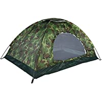 Dilwe tenda da campeggio, outdoor camouflage protezione UV Impermeabile 2Personstent per campeggio