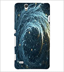 PrintDhaba Bautiful Deign D-1144 Back Case Cover for SONY XPERIA C4 (Multi-Coloured)