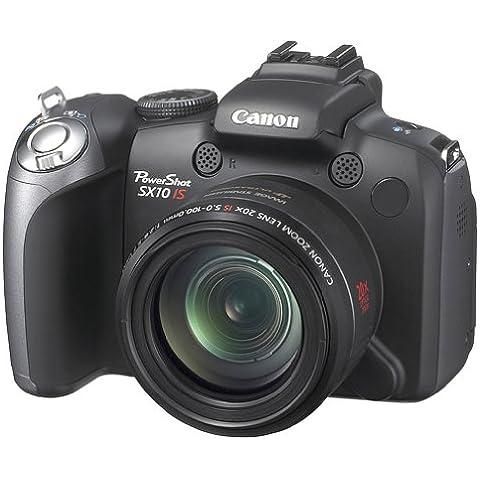Canon Powershot Sx10 Is - Fotocamera Digitale - Compatta - 10.0 Mpix - Zoom Ottico: 20 X - Memoria Supportata: Mmc, Sd, Scheda Di Memoria Sdhc, Mmcplus