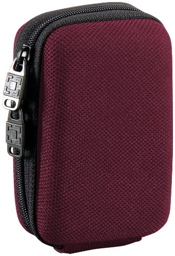 Pataco DCEVA-1R Point & Shoot Digital Protection Case Universal-Kameratasche (Hartschale) rot Digital Point And Shoot Case