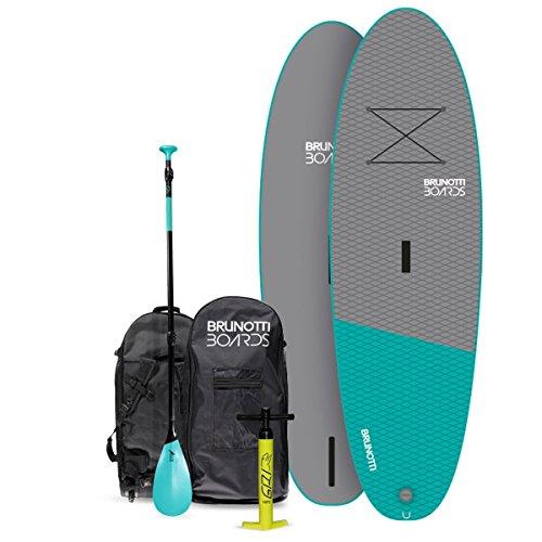 BRUNOTTI Big Bastard iSUP Stand Up Paddle Surfboard SUP Paddelboard mit Paddel