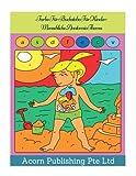 Farbe Für Buchstabe Für Kinder: Menschliche Anatomie Thema