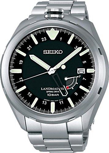 Seiko Prospex LAND Landmaster Spring Drive SBDB015 Reloj Automático para hombres muy deportivo