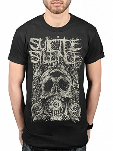 Official Suicide Silence Death Of Cyclops T-Shirt Deathcore Music Album Chris Garza