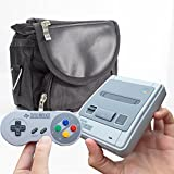 TwitFish SNES Classic Mini All-IN-1 Carry Bag by Carry Your Console + All Its Components + More - for Use with The New SNES C