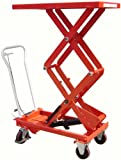 Double Mobile Scissor Lift Table - 300kg Capacity