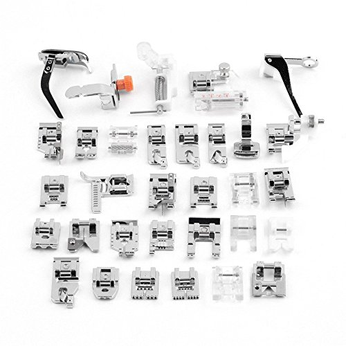 Used, Sewing Machine Presser, 32Pcs Sewing Machine Presser for sale  Delivered anywhere in UK