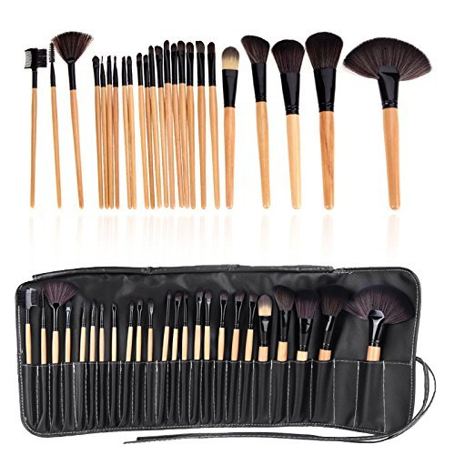 Allin Exporters Zureni 24Pcs/Set Pro Makeup Brush Set & Kit Professional Makeup Tool Kit Cosmetic Makeup Brushes