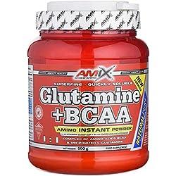 Amix Amix Glutamine + BCAA Powder Aminoácido - 500 gr_8594159534803