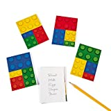 Color Brick Party Notepads 24 Count